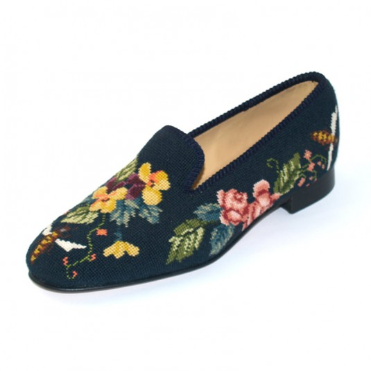 Ladies Tapestry Slippers